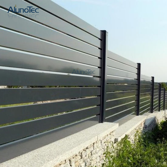 Best Selling Sun Shade Aluminum Garden Fence