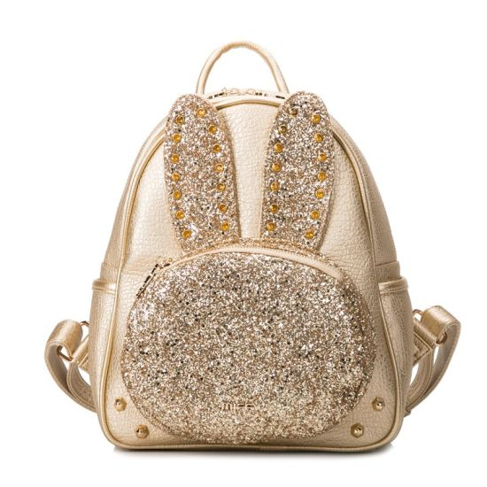 Cute Glitter Rabbit Backpack Cartoon Studs Fashion Handbag pictures & photos