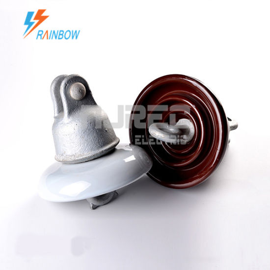 ANSI 52-1 Porcelain Insulator Ceramic Insulator Disc Suspension Insulator for Transmission and Substation pictures & photos
