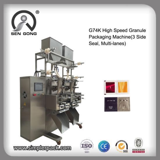 Wholesale G74K High Speed Granule Sealing Packing Machine with Multi-Lanes