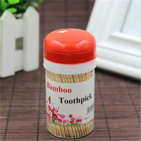 Wooden Barrel Disposable Bamboo Toothpick pictures & photos