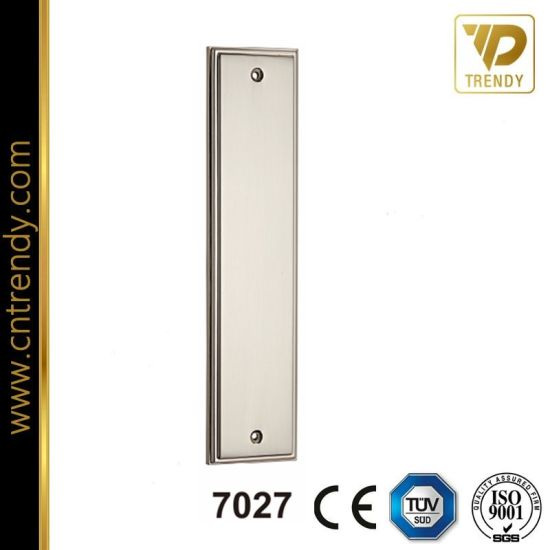 Square Type Door Plate Zinc Alloy Big Door Panel (7027) pictures & photos