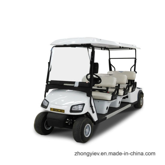 6 Seater Electric Golf Car with Ce Certification
