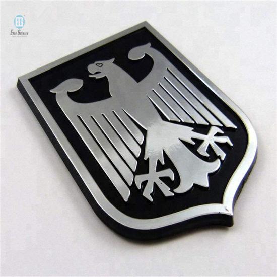 3D Car Badge Sticker Decal Custom Emblems Chromed ABS Badges for Car