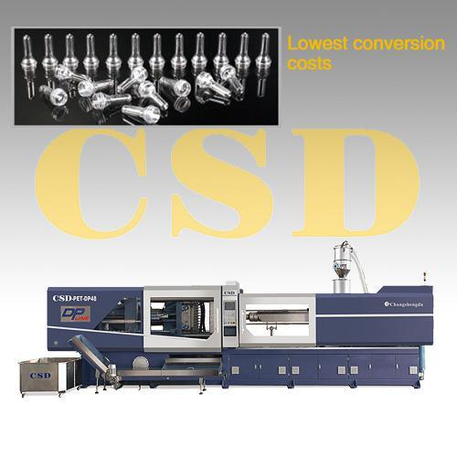 High Precision, High Capacity, Direct Pressure Pet Injection Molding Machine (CSD-PET-DP Series)