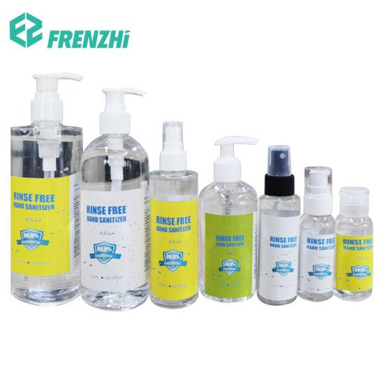 75% Alcohol Hand Sanitizer Waterless Spray Liquid Hand Wash Hand Sanitizer Gel