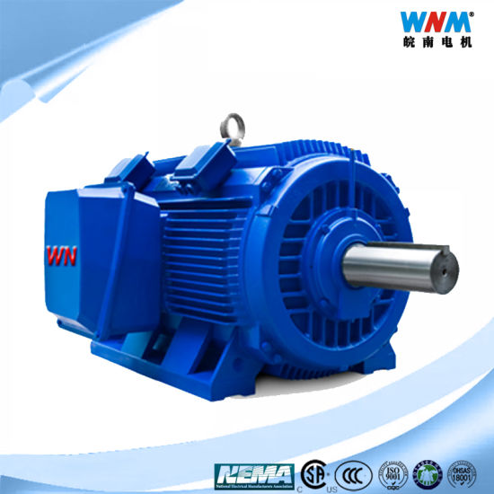 N580 NEMA Standard C Design 3 Phase Large Torque Large Power 460V/575V/230V 60Hz Sf1.15 300~400HP AC Induction Motor for Fans Pumps Conveyors Crusher