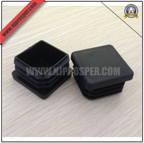 PE Square Caps/Stopper for Steel Pipes and Tubes (YZF-C362)