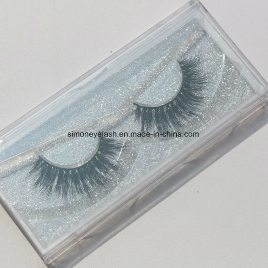 Customized Natural Siberian Mink Lashes Extensions Thick False Eyelashes Cosmetics pictures & photos