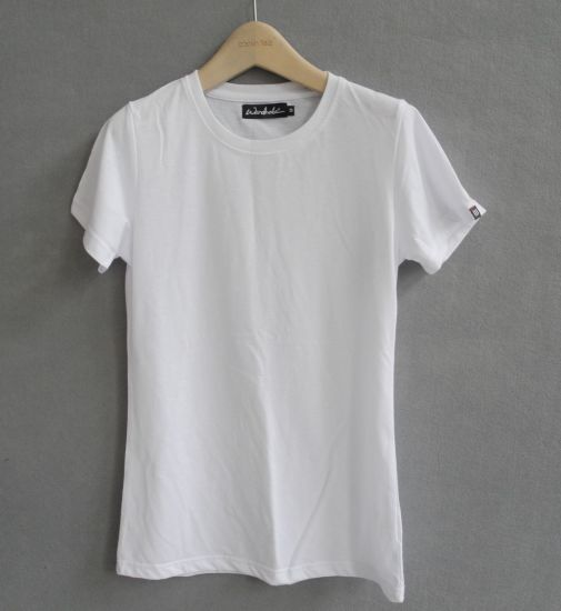 Fashion Slim Fit Plain T-Shirts with Different Colors (M266) pictures & photos