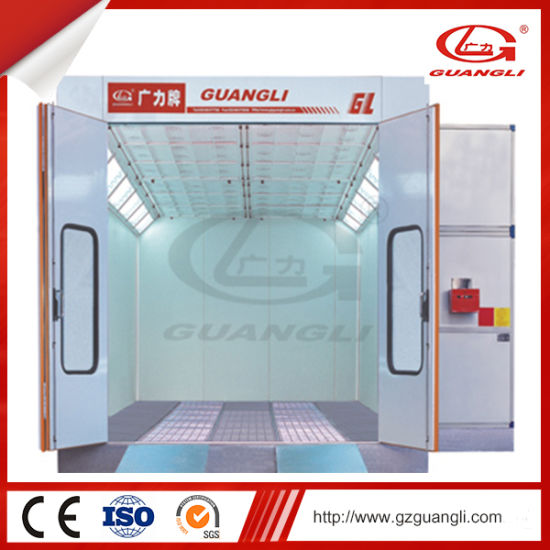 Guangli Factory Supply Ce Approved Automobile MID-Size Bus Paint Spray Booth Oven Chamber pictures & photos