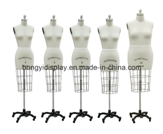 Fabric Halfbody Female Mannequins for Retail Display pictures & photos