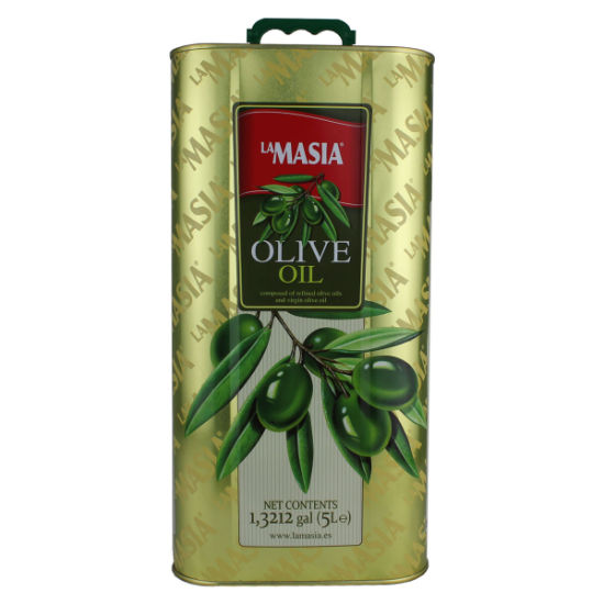 Metal Tin Can for Olive Oil 5 Liters (FV-051433)
