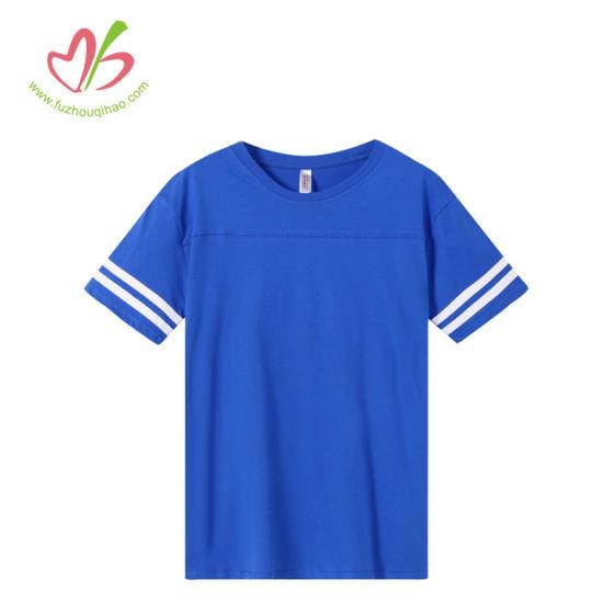 Summer Cotton Jersey Short Sleeve Round Neck T-Shirt for Men