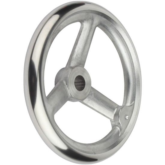 Customized Cast Stainless Steel Handwheel pictures & photos