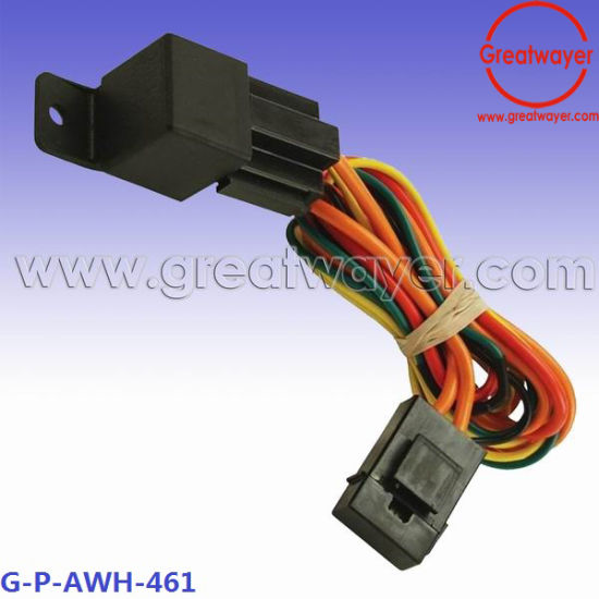 5 Pin Relay Socket Adapter 5 AMP Fuse Wire Harness - China ...  Pin Relay Wire Harness on