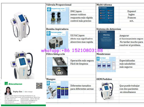 Criolipolisis Coolscupting Slimming Machine Fat Freeze Slimming Machine pictures & photos