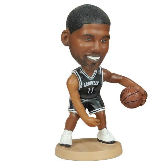 12 Cm OEM NBA Baller Kyrie Irving Action Figure Car Dashboard Bobble Head