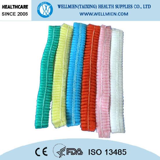 High Quality Disposable Non-Woven Medical Cap
