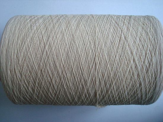 Cotton Open End Yarn - Raw White Ne21s/1 pictures & photos