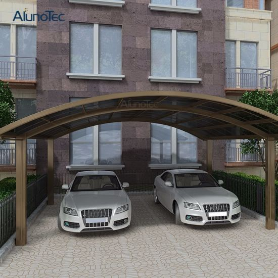 Double Garage Design In Sidcup: China Outdoor Garage Carport Designs With Arch Roof