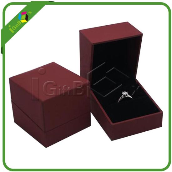 High End Hinged Jewelry Gift Box With Insert Whole