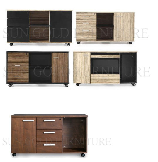 High Quality Wooden Filing Cabinets Sz Fc061 Pictures