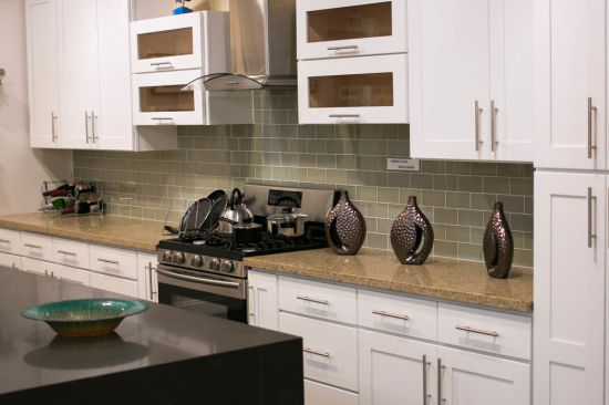 Fine American Style White Shaker Wooden Kitchen Cabinet Soft Closed Hardware Download Free Architecture Designs Xerocsunscenecom