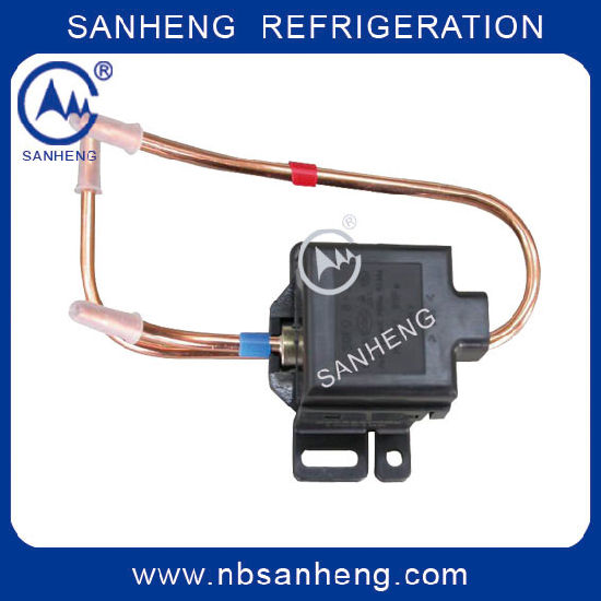 High Quality Bistable Pulse Refrigerator Solenoid Valve (SDF) pictures & photos