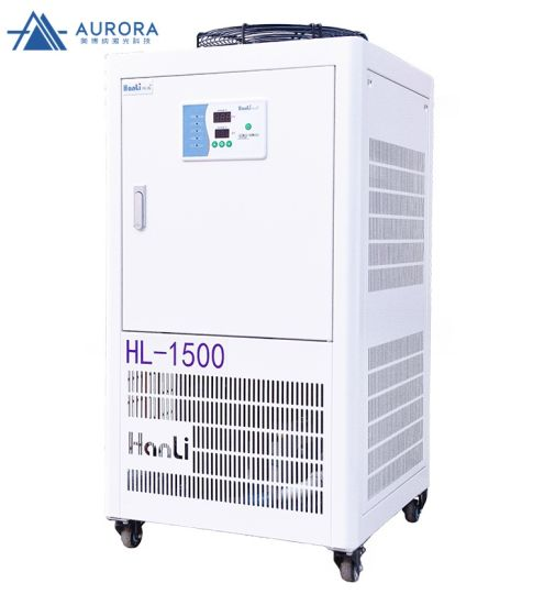 Hanli Water Cooling Cooled Machine Industrial Water Chiller 1500W