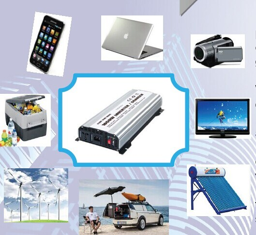 1200W DC12V/24V AC220V/110 Modified Sine Wave Power Inverter (TUV) pictures & photos