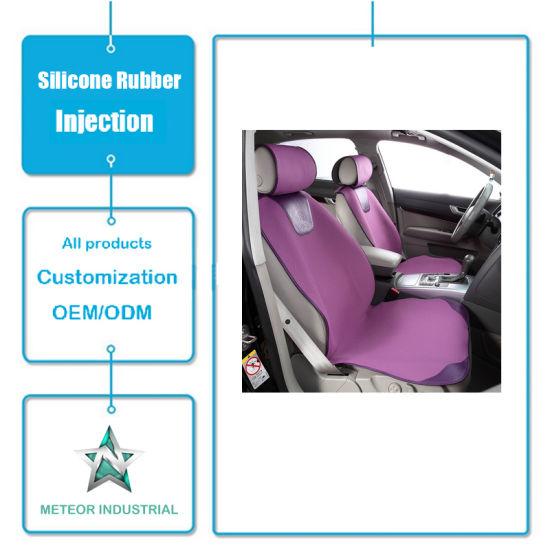 Customized Silicone Rubber Products Car Decoration Silicone Pad Injection Mold