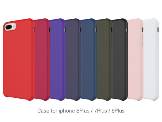 2019 High Quality Wholesale Mobile Phone Case Silicone Cover for iPhone 6plus/7plus/8plus