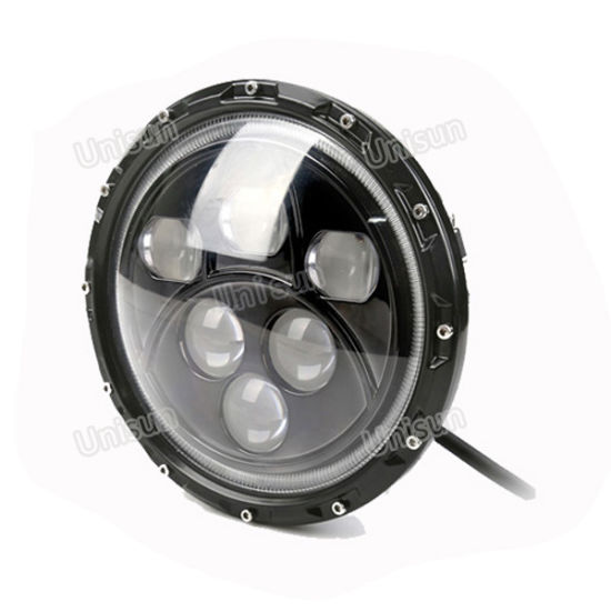 7inch Round 60W LED Auto Headlamp, Headlight pictures & photos