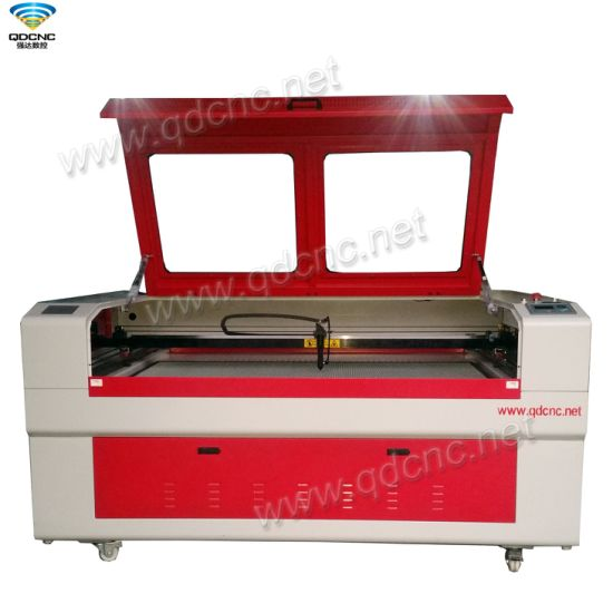 Cheap Plywood Laser Cutting Engraving Machine with Advanced Digital DSP Offline Controller Qd-1490
