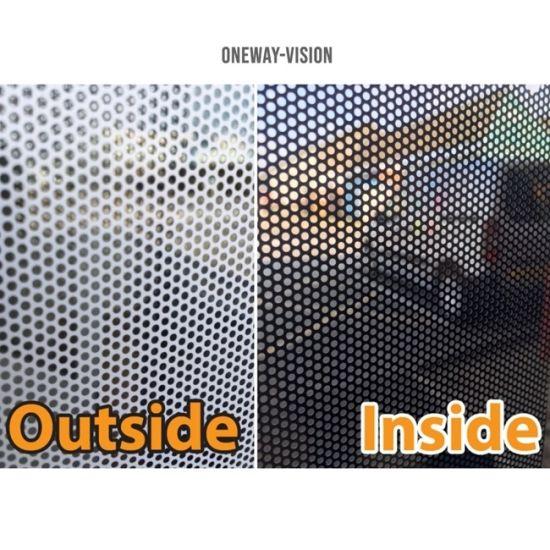 Black One Way Vision Printable Vinyl Film Tint Car Vehicle Window Film Hot Sale