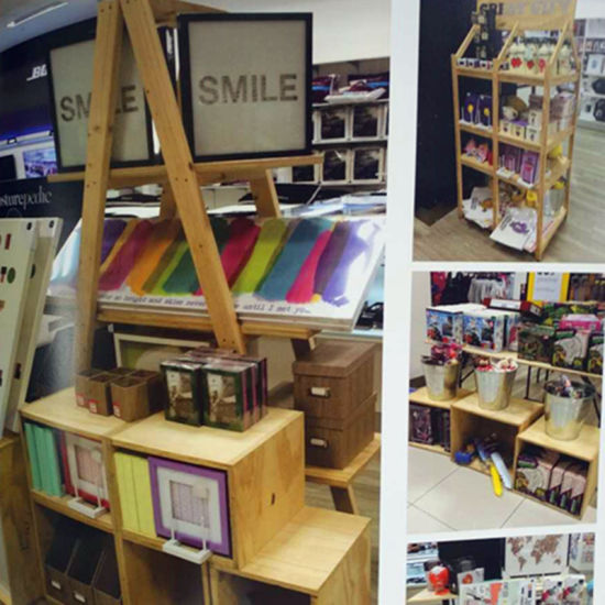 Wood Cabinet Display Stand Advertising Equipment for Store
