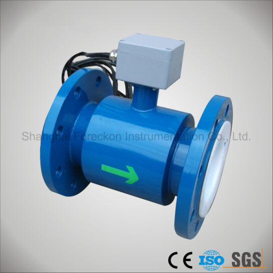 Price Electromagnetic Flowmeter, Magnetic Flow Meter, Water Flow Meter (JH-DCFM-F-R) pictures & photos