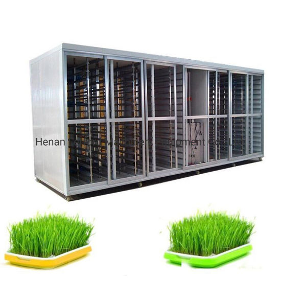 Automatic Hydroponic Seed Growing Machine Seed Planter Grass Seed Sprouting Machine