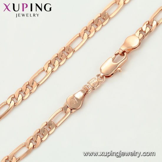 44779 Elegant Gold-Plated Jewelry Necklace 50-55cm Length China for Women pictures & photos