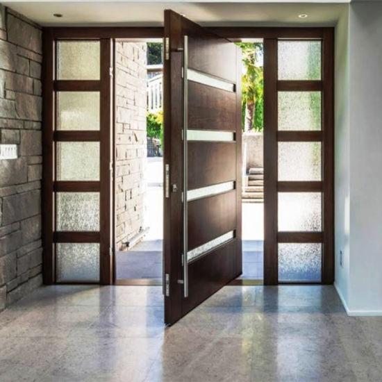 Us Villa Main Entry Door Modern Design Pivot Wood Doors