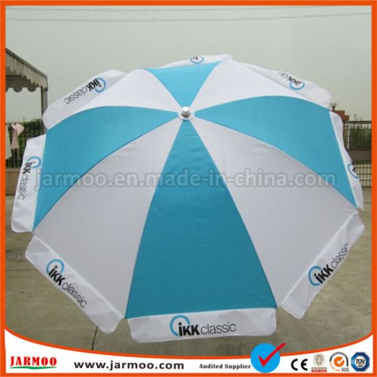 Printed Custom Logo Beach Parasol for Outdoor Advertising pictures & photos