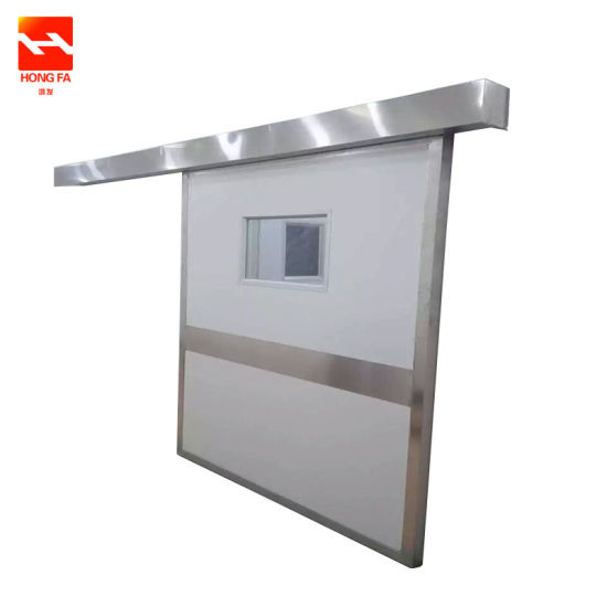 Stainless Steel Automatic Sliding Door (HFF-3000) pictures & photos