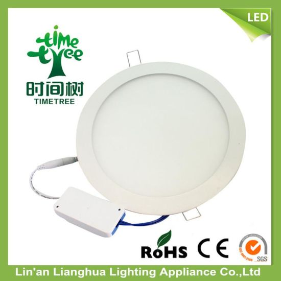 12W Aluminum Isolation Driver LED Panel 85-265V LED Panel Light pictures & photos