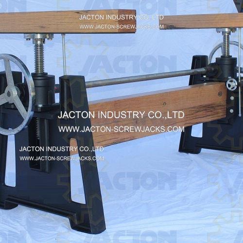 Jack Lifting Device Hand Crank Sit Stand Desk Screw Lift Mechanism Adjustable Height Table Mechanism