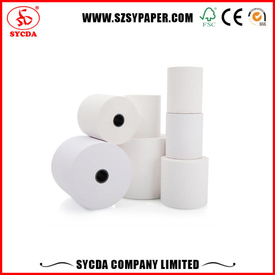 Factory Price Good Thermal Paper for Bank ATM System