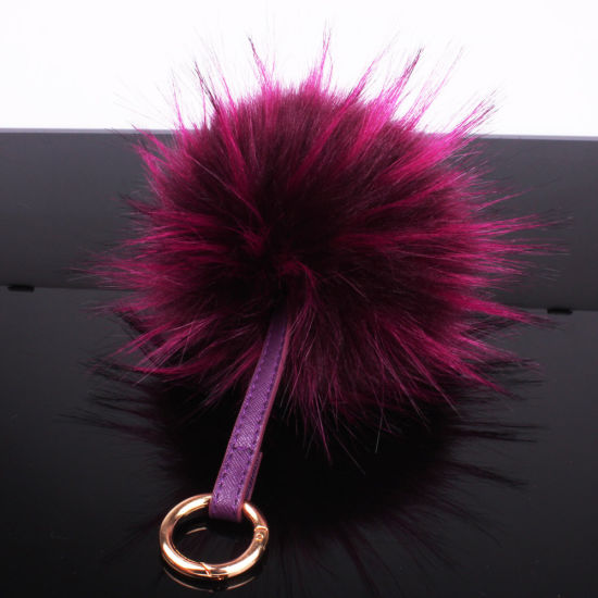 Top Quality Popular Real Raccoon Fur Ball for Decoration pictures & photos