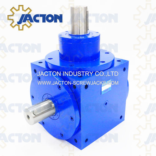 Spiral Bevel Gearboxes Have a Bevel Gear with Helical Teeth. Where The Direction of Drive From The Drive Shaft Must Be Turned 90 Degrees to Drive The Wheels