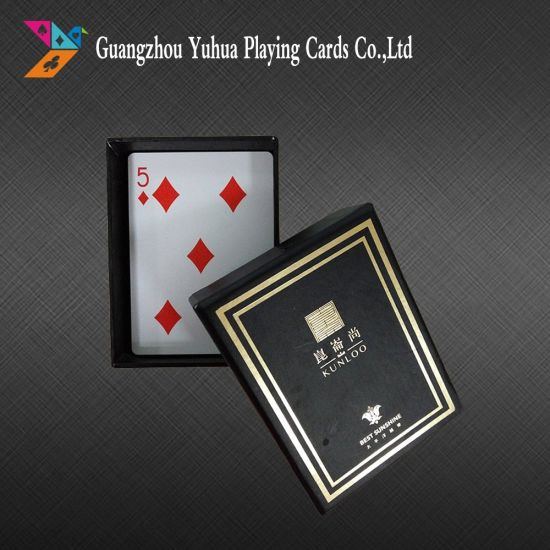 Advertising Cards Playing Cards with Custom Logo pictures & photos