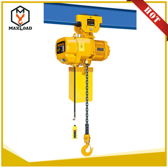 Electric Chain Hoist With Hook: China 0.5t Electric Chain Hoist With Lifting Hook